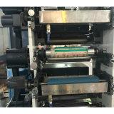 6つのカラーフィルムのラベルのフレキソ印刷の印字機