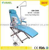 Chaise Pliante Portable dentaire de l'unité mobile+l'unité de turbine