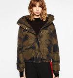 싸게 덧대진 여자 겨울 Jacaket 도매 스포츠용 잠바 여자 재킷을 아래로 두껍게 하십시오