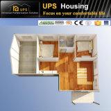 새로운 디자인 3 침실 사무실 Prefabricated 움직일 수 있는 집