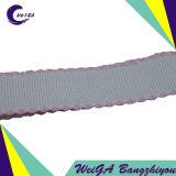 Fita pura da borda 4cm da cor da tela de algodão da alta qualidade