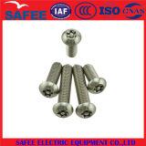 Vis de machine spéciales de tête en acier de champignon de couche de modèle de la Chine - vis de machine de la Chine, vis spéciales