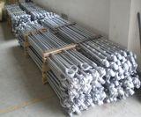 Contenitore lungo galvanizzato forgiato dell'acciaio legato che frusta barra