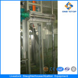 Bestiame Hide Skinning Machine in Cattle Meat Processing Plant