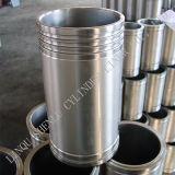 Luva Diesel do cilindro das peças sobresselentes usada para o motor 3306/2p8889/110-5800 da lagarta