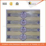 Autoadesivo di carta autoadesivo stampato personalizzato di stampa del contrassegno del regalo della stampa