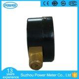 50mm schwarzes seitliches Anschluss-Druckanzeiger-Stahlmanometer