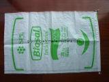 2 Plys /Layers Packpapier-Kleber-Beutel für Düngemittel Packa. des Kleber-50kg
