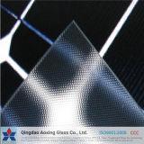 Vidro de vidro Tempered de /Pattern do painel solar de vidro de folha