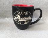 La tasse repérée, sablent la tasse en céramique, tasse en céramique gravée