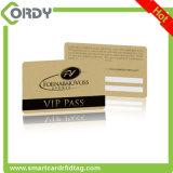 Carte sans contact de contrôle d'accès de carte à puce d'IDENTIFICATION RF de PVC 13.56MHz