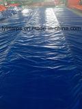 Chine Rouleau de tarjete en plastique bleu, rouleau de tarte PE