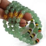 Brazaletes moldeados de la pulsera del cristal natural de la piedra preciosa semi