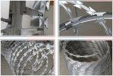 Гальванизированная колючая проволока бритвы сделанная в Китае