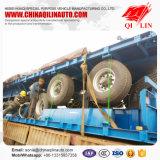Reboque da caixa da fábrica de China com o eixo 3