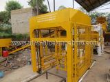 máquina de fabrico de blocos de betão