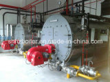 500-10000kg/H Fire Tube 3 Pass Wet Back Type Schmieröl-abgefeuertes Steam Boiler