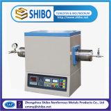 horno de tubo de vacío del laboratorio 1200c, horno de sinterización de alta temperatura