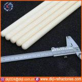 El 99,7% puro de alta alúmina 1800c de tubo de cerámica refractaria