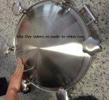 ステンレス鋼の圧力(600104)の衛生マンホールカバー