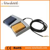 Aluminiumlegierung-elektrischer Fuss-/Pedal-Schalter Ampere-Fußschalter