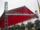 Tenda di alluminio del fascio del tetto di festival di musica del tetto di illuminazione della fase della vite