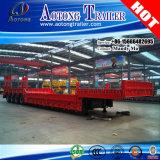 クレーン輸送のための半80-100tons 4車軸Lowbedのトレーラー
