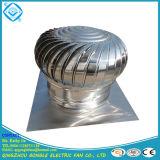 Ventilador automático del ventilador de la azotea de la turbina del acero inoxidable