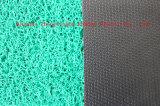 다이아몬드 역행을%s 가진 3G PVC 두 배 & 단 하나 색깔 지면 매트