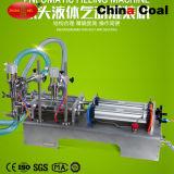 Машина завалки жидкости запитка прачечного поршеня 2 сопл пневматическая