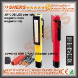 2W clip magnetica dell'indicatore luminoso del lavoro della casella dell'indicatore luminoso del lavoro della penna della PANNOCCHIA LED