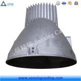 Les pièces en acier de moulage de précision de Qingdao ont détruit la fonderie de bâti de cire avec le spectrographe