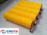 Pu Spiral Tube met Quick Coupler