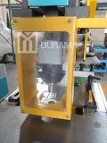 Ironworker hidráulico para perfuração, corte, dobra e entalhe