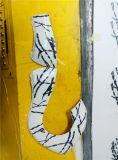 ضمّن [متوب] [3د] خلفيّة جدار [أوف] [ديجتل] مسطّحة طابعة ضمّن سقف ألومنيوم بنيقة [3د] [برينتينغ مشن]