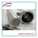 Filter van de Pijp van de Fabrikant van Wenzhou de Roestvrij staal Geïsoleerdez