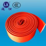 Da mangueira trançada do PVC Layflat do preço da mangueira do plutônio produtos originais para vender a mangueira vermelha
