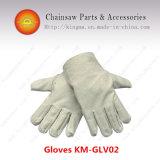 Beschermende canvas handschoenen