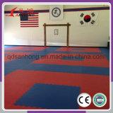 Couvre-tapis professionnel de Teakwondo de vente en gros de matériel de gymnastique