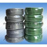 Alambre galvanizado cubierto PVC del hierro Bwg8-Bwg22