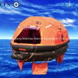 Liferaft inflável ao mar Self-Righting do Throw com capacidade de 125 pessoas