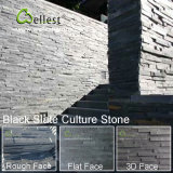 Painel de Pedra Natural de Ardósia Painel de Pedra Natural para Revestimento de Parede Interior / Exterior