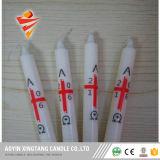 Eigenmarken-weiße Kerze gebildet in China/billig in den Bougies