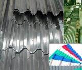 Strato ondulato di alluminio con l'onda trapezoidale