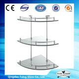 полки (замороженного) 3-19mm стеклянные для ванной комнаты с Ce & ISO9001