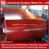 Bobina d'acciaio galvanizzata pre verniciata per materiale da costruzione