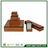 Caixa de jóia de madeira da produção por atacado da fábrica