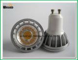 5W proyector GU10 de la MAZORCA LED/luces de MR16 LED con el alto CRI del alto lumen