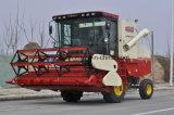 바퀴 유형 저손실 비율 콩 결합 수확기