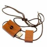 Mecanismo impulsor de madera del flash del USB del material